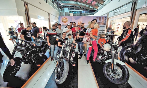 H-D 2018 Models Hit the Road in Bahrain