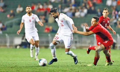 Bahrain held by Hong Kong