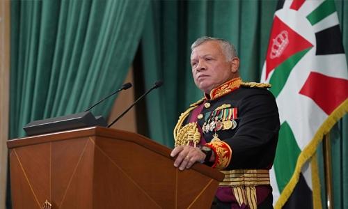 Palace crisis is over, says Jordan king