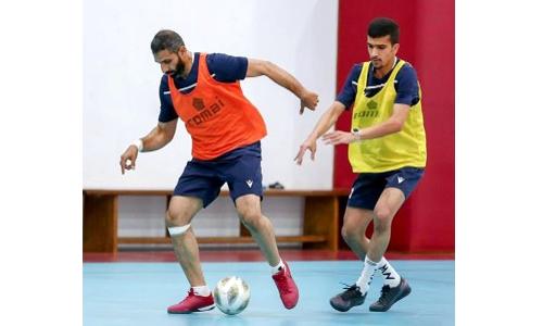 Bahrain gearing up for Arab Futsal Cup