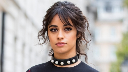 Camila Cabello continues filming Cinderella with Idina Menzel in UK