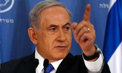 Netanyahu blames Iran for ship attack, says 'striking' back