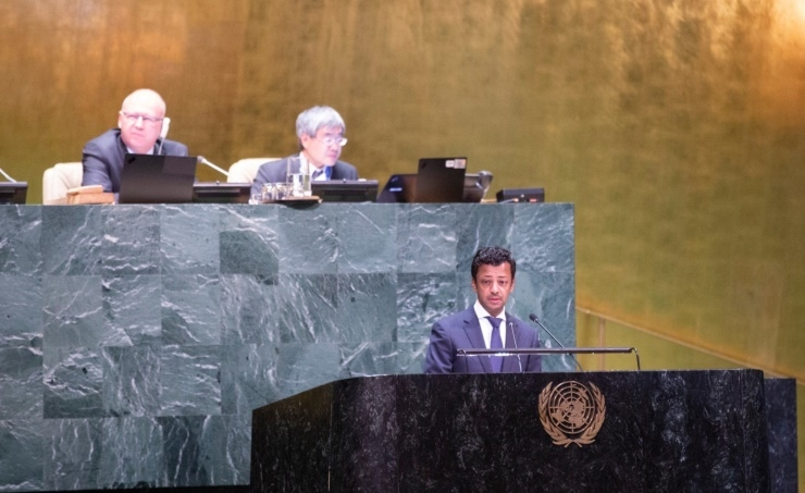 Bahrain participates in UNGA meeting on Palestine
