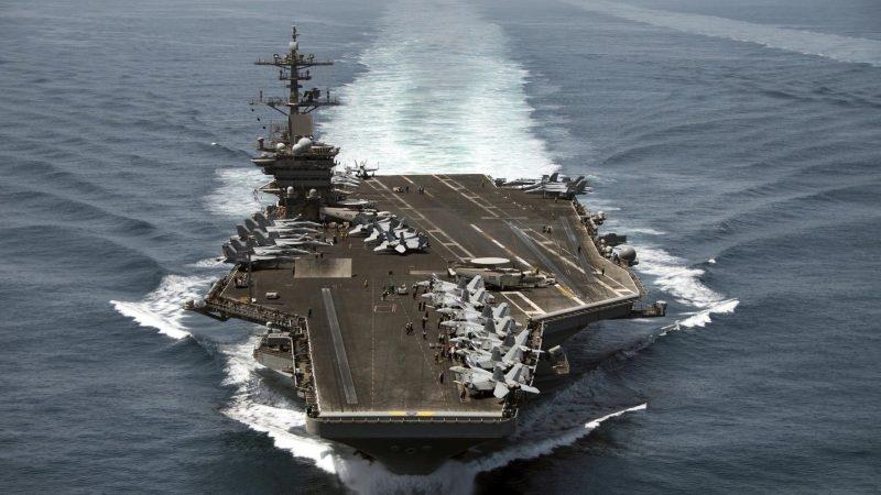 Pentagon removes captain of virus-struck aircraft carrier
