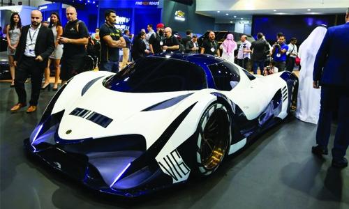 Devel  Sixteen:  '300mph' hypercar prototype unveiled