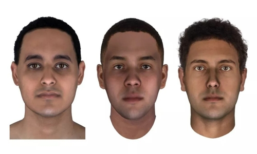 3D faces of Egyptian mummies reconstructed