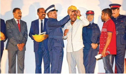 Key event stresses safety of labourers at workplace