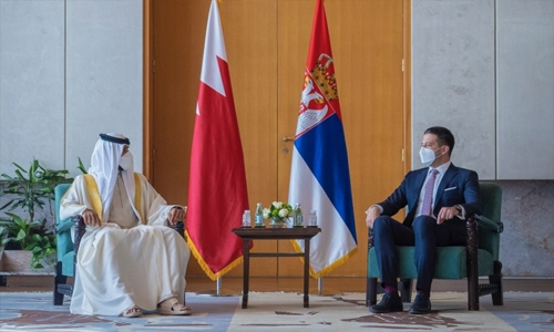 Bahrain, Serbia share keenness on exchanging experiences in youth, sports