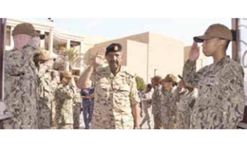 BDF commander opens IMSC command centre