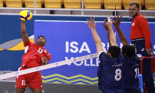 Muharraq stay perfect with 12th win in volleyball