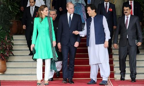 Prince William, Kate meet Imran Khan, friend of Diana