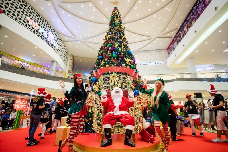 Big sale and 'snow' in Dubai this festive weekend