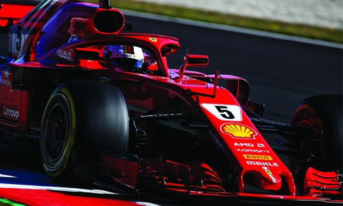 Vettel fastest early as F1 tests resume, McLaren struggles