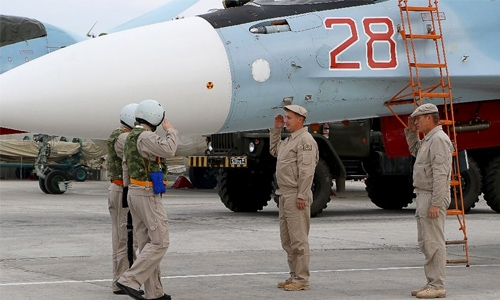 Russia strikes kill at least 30 jihadists in Syria