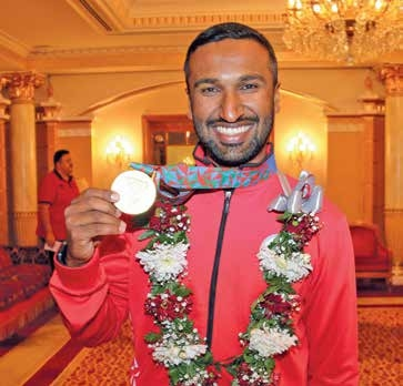 Majed grabs shooting gold