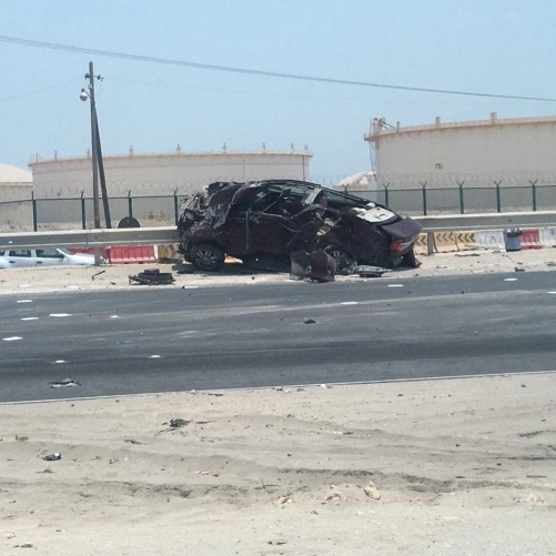 Man dies in fatal three-car crash