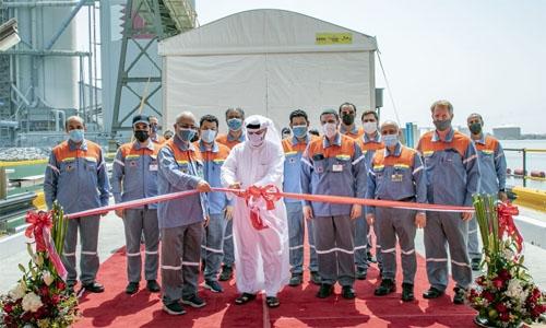 Alba's marine jetty extension inaugurated
