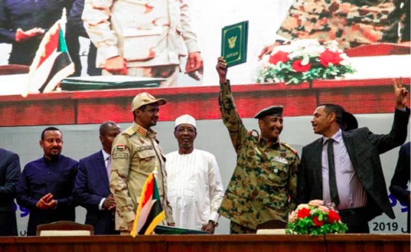 Sudan transition deal signed