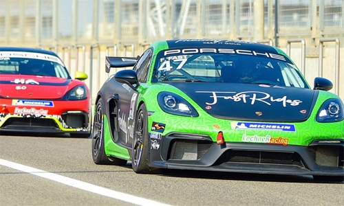 Guven sets Porsche practice pace, becomes first driver to top a session at BIC's Outer Track