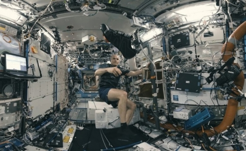 LG Uplus, telco release International Space Station VR series