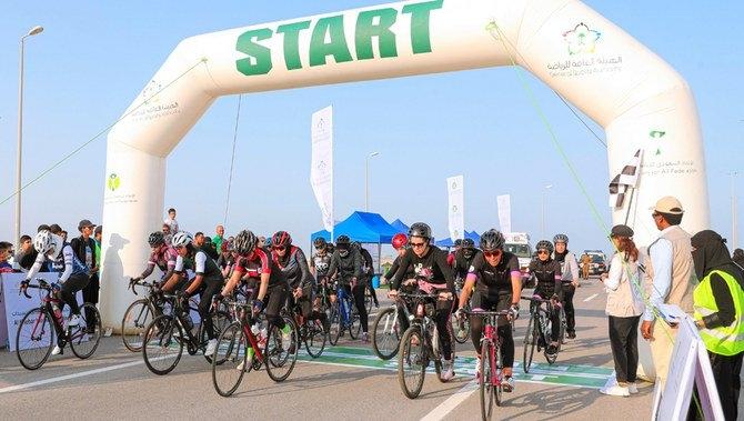 Saudi women lead the way as cycling breaks down barriers