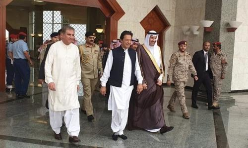 Imran Khan in Saudi Arabia