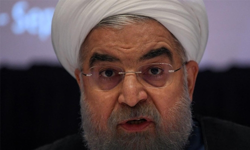 Iran's Rouhani vows to strengthen missiles despite US criticism