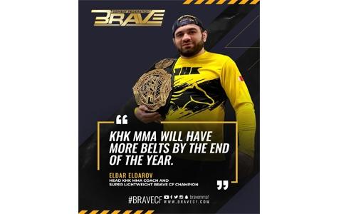 Eldarov Gets hero's welcome, sparks KHK MMA year of hunting belts
