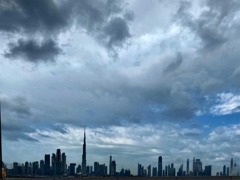 Look: It rained heavily in Dubai on Wednesday morning
