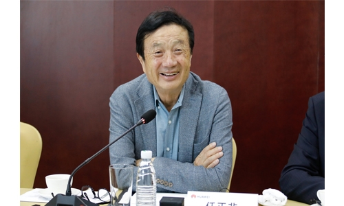 Ren Zhengfei's Media Interview After the Opening Ceremony of the Intelligent Mining Innovation Lab in Taiyuan