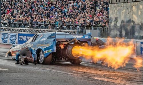 Jet Funny Car set for Bahrain debut