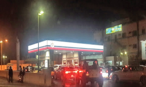 Employee error at fuel station damage vehicles in Bahrain