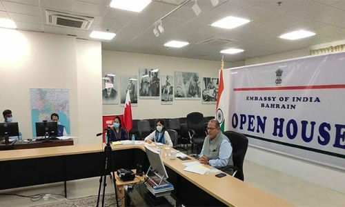 Indian Embassy in Bahrain organise monthly Open House virtually