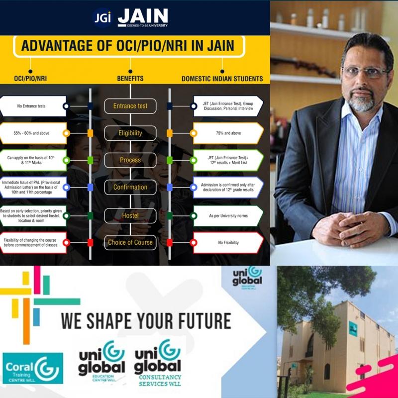 UniGlobal ties up with S P Jain School of Global Management, Jain University