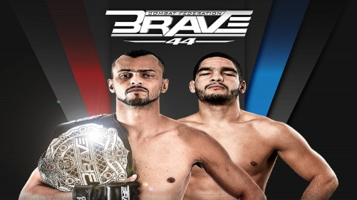 BRAVE CF 44: Cleiton 'Predator' defends Lightweight world title against Amin Ayoub