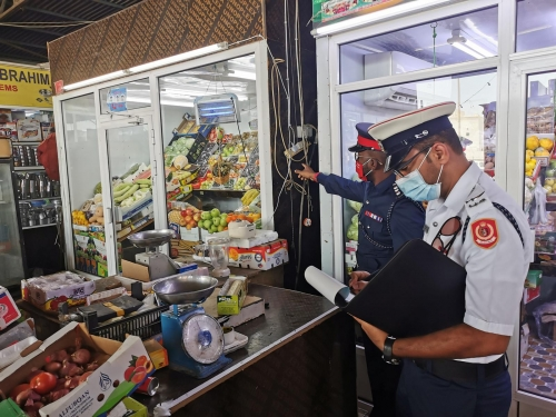 Fire safety campaign launched in local markets