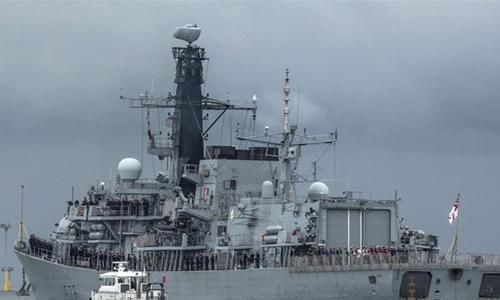 Naval escort mission