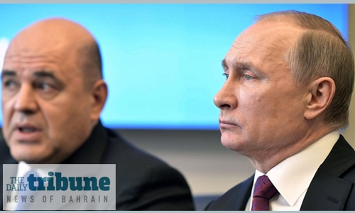 Putin's new PM promises 'real changes' for Russians
