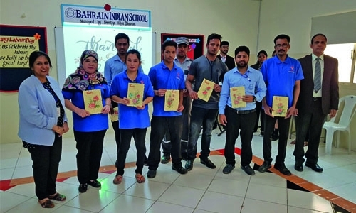 Bahrain Indian School celebrates Labour Day