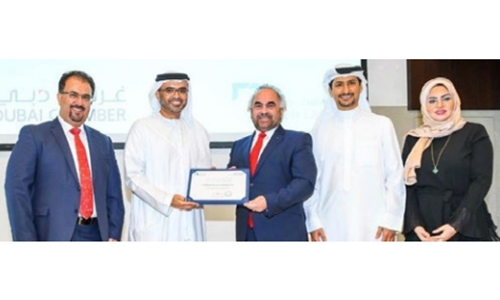 GPIC receives Dubai Chamber CSR Label Award for Excellence