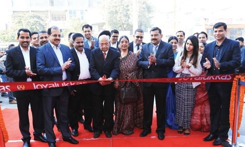 Joyalukkas launches new showroom in Indian capital
