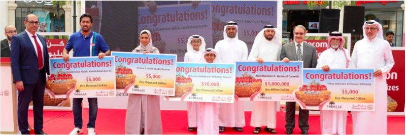 Thimaar millionaire pledges $100,000 to charity