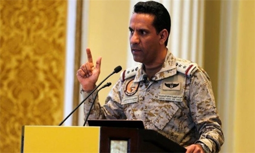 Coalition thwarts Houthi drone attack on Saudi commercial ship