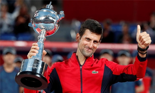 Djokovic clinches Japan Open