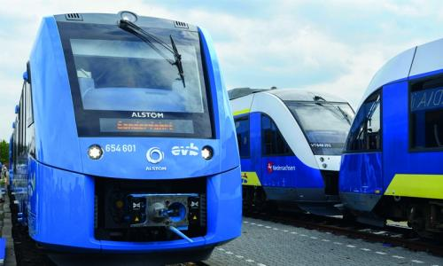 Germany rolls out hydrogen train
