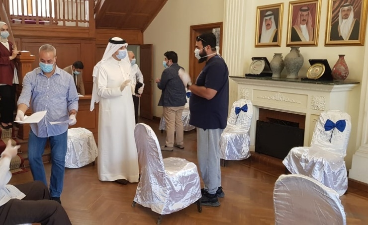 Bahrain Embassy in Cairo to facilitate return of about 250 Bahraini citizens