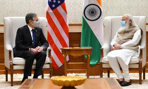 India a leading global power, says Blinken