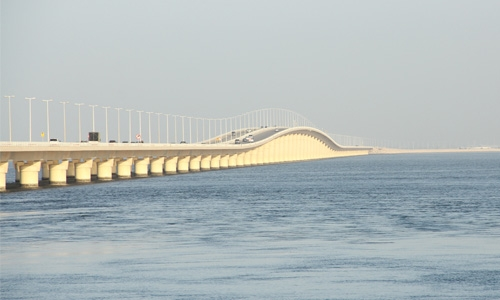 One-stop crossing on King Fahad Causeway