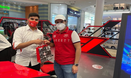 Batelco gives out 100 Formula 1 tickets