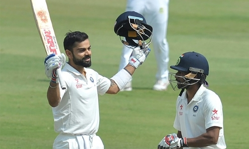 Records galore as India declare on 687-6